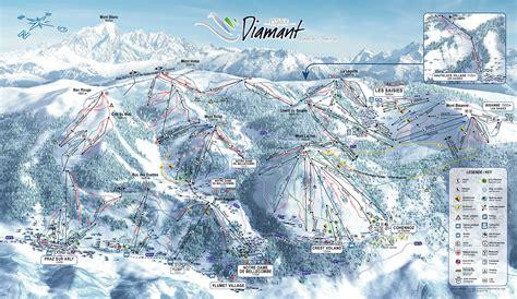 location chambre d hote plan des pistes de flumet guide des stations ski flv fr