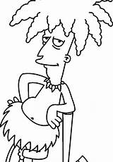 Coloring Simpson Lisa Simpsons Printable Colouring Getcolorings Maggie sketch template