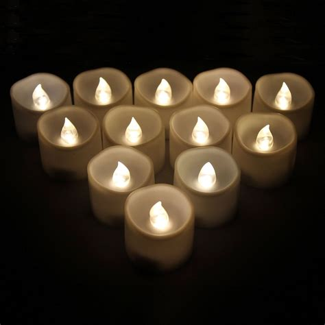 flickering led candle lights liander flameless candles flickering timing warm white