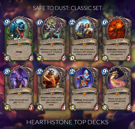Meta Decks Hearthstone 2017 by Hearthstone Legendaries You Can Safely Disenchant Updated