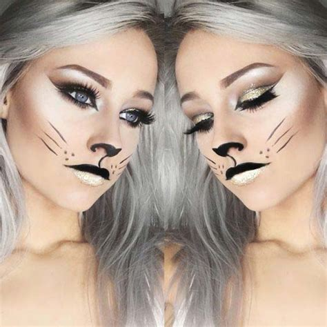 easy cat makeup ideas  halloween page    stayglam