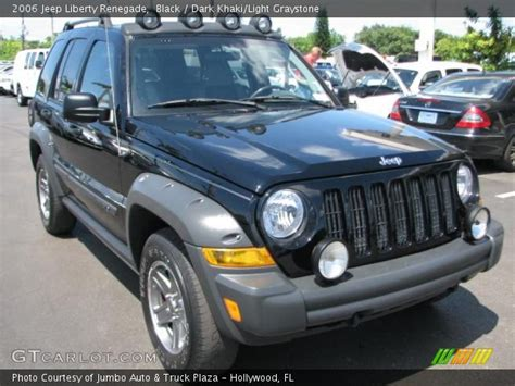 jeep renegade dark blue black 2006 jeep liberty renegade dark khaki light