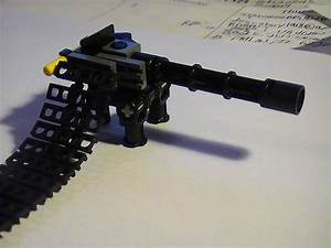 Realistic LEGO minigun - All