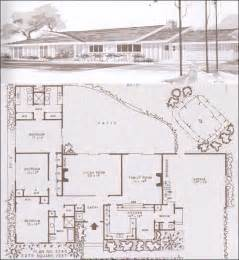 modern ranch floor plans ramblers ranches and mid century modern houses design