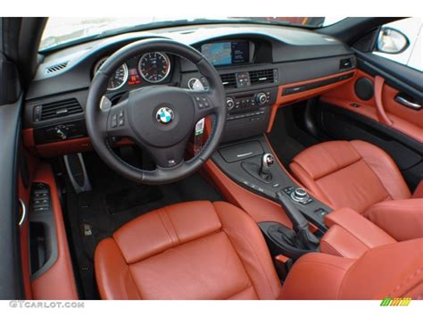 bmw red interior fox red novillo leather interior 2011 bmw m3 convertible
