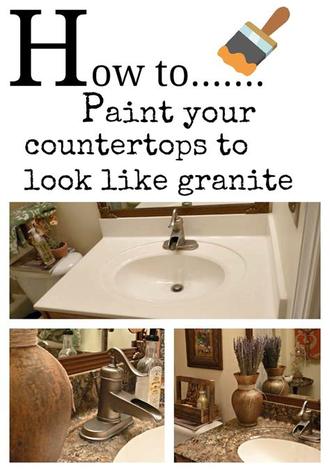how to paint your countertops to look like granite how to paint your counter tops to look like granite and