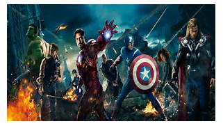 The Avengers 2012 Wall...