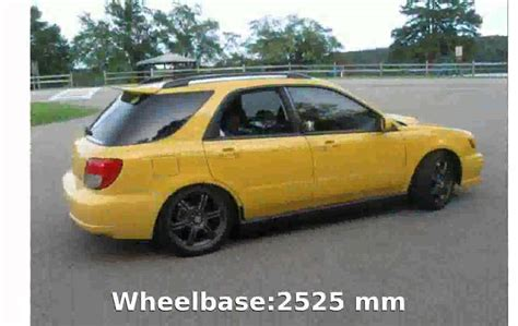 Subaru Impreza Station Wagon by 2003 Subaru Impreza Station Wagon Ii Pictures