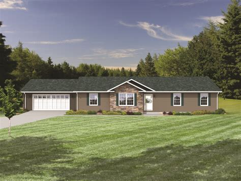 modular homes with garages modular ranch plans ranch style designs virginia