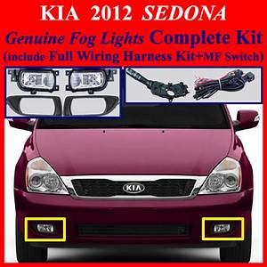 2015 Kia Sedona Fog Light Wiring Harness Kit