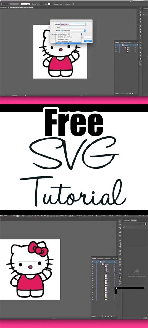 Well, at least most of it. How To Make SVG Files To Use With Cricut and Silhouette ...