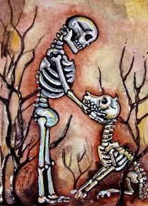 Lisa Luree Art Including Bonediva ACEO's, Dia De los ...