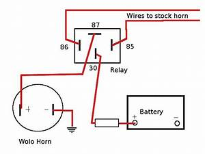 Air Horn Wiring Diagram With Relay
