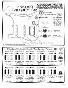 American Deluxe Telecaster S1 Wiring Diagram Fender Tele