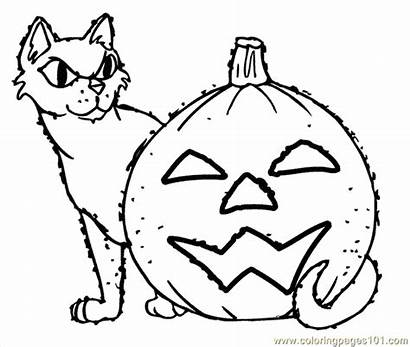 Coloring Pages Savage Halloween Coloringpages101 Holidays Template