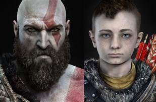 God of War Kratos Son