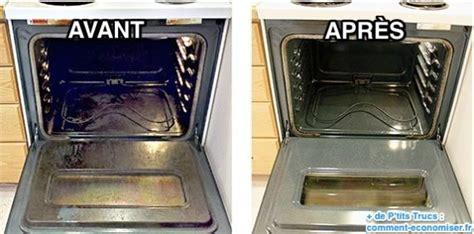 nettoyer interieur porte four comment nettoyer un four encrass 233