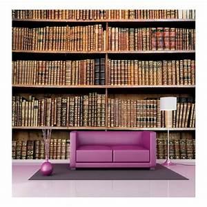 Papier Peint Geant : papier peint g ant d co biblioth que 250x360cm stickers ~ Premium-room.com Idées de Décoration