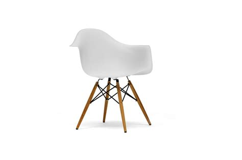 pascal white plastic chair set of two wholesale interiors