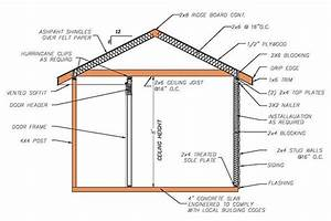 8 U00d712 Hip Roof Shed Plans  U0026 Blueprints For Cabana Style Shed