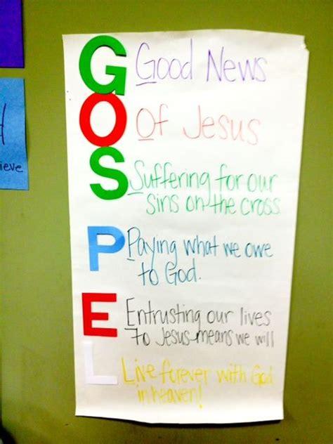 gospel bulletin board idea and a lesson to go with it 111 | 06456b04fe438d5cf1a05b7adb531c8c preschool sunday school sunday school lessons