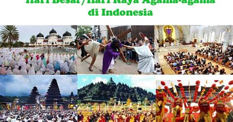hari besar keagamaan  indonesia lengkap bocah pintar