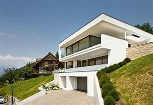Haus Am Hang : einfamilienhaus hanghaus klaus modern edelstahlpool ~ A.2002-acura-tl-radio.info Haus und Dekorationen