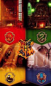 Hogwarts Houses - Pottermore Fan Art (27819650) - Fanpop