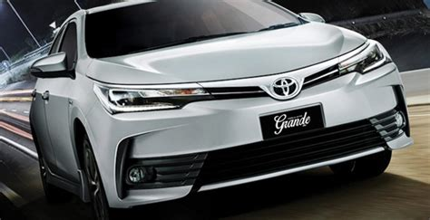 Toyota Corolla Grande 2018 Review, Pictures And Prices In