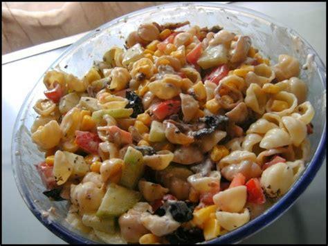 salade de pates vegetarienne salade de p 226 tes fa 231 on oliver r 234 ve et gourmandises
