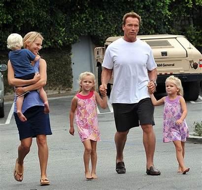 Schwarzenegger Arnold Ice Zimbio Taking Cream