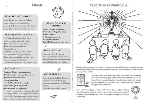 mon livret pour ladoration eucharistique catechisme