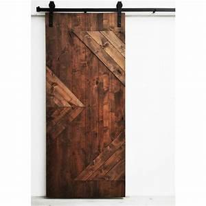 dogberry zig zag 36 x 82 inch barn door with sliding With 28 inch barn door