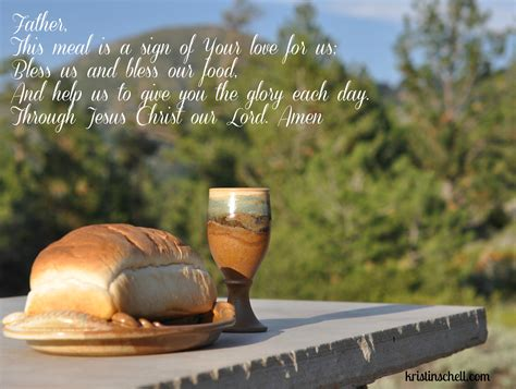 On the chief liturgical feasts: Mealtime Prayers: Your love for us - The Turquoise Table
