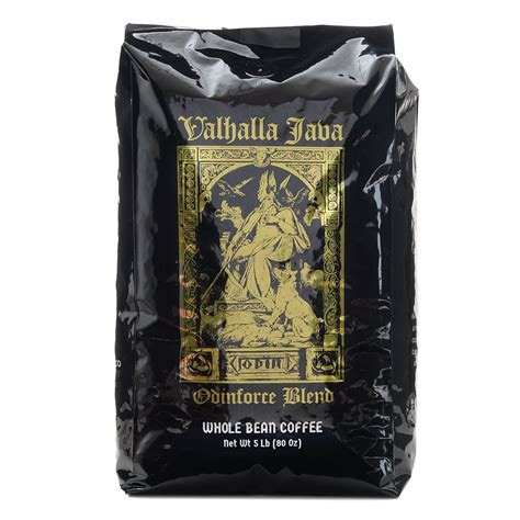 If you are like me, you are wondering if these valhalla java coffee is an excellent brew from death wish coffee company that wakes you up with. VALHALLA JAVA Whole Bean Coffee 5 Lbs. USDA Certified Organic, Fair Trade, Arabica and Robusta ...