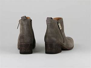 Chaussures Atelier Voisin / ORCRUX / Boots Taupe Croute ...