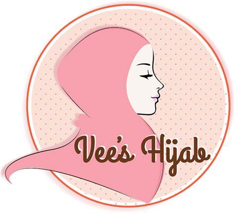 vees hijab logo  behance