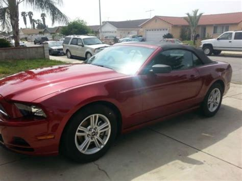 find   ford mustang base convertible  door