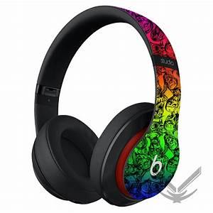 Beats by Dre Rainbow Zombie Studio Headphones  Beats