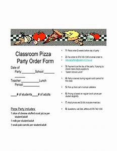 blank pizza party flyer free download With pizza party flyer template free