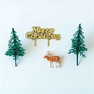 Decoration Pour Buche De Noel : d coration buche de noel kit for t toppers gateau achat ~ Farleysfitness.com Idées de Décoration