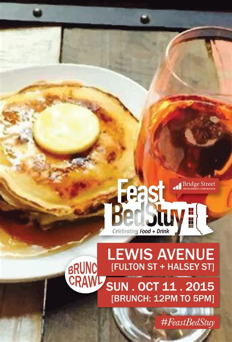 feast bedstuy crawl to take over lewis avenue for bed stuy