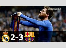 Real Madrid vs FC Barcelona 23 All Goals and Short