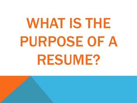 The Purpose Of A Resume Is To Convince by Anthropology Resume Cover Letter