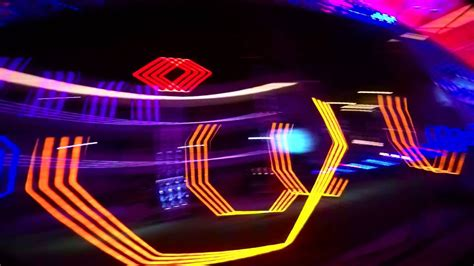 gopro race xdc  vegas light track night drone racing youtube