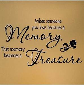 Memories Of You... Treasured Love Quotes