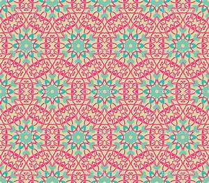 vintage wallpaper | Vintage pattern wallpaper vector ...