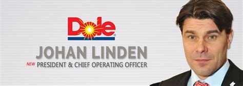 Dole Food Company, Inc. Appoints Johan Linden as its New ...