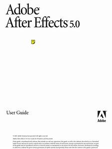 Adobe After Effects User Guide