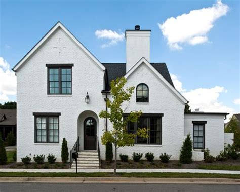 Brick With Dark Trim Home Design Ideas, Pictures, Remodel ...